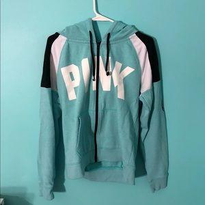 PINK full zip hoodie!